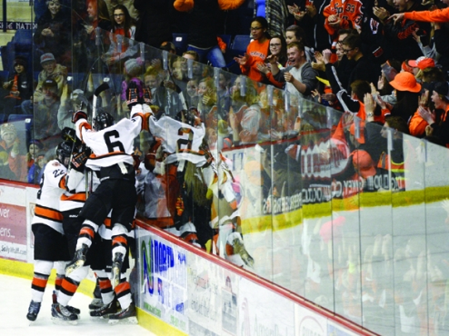 MN H.S.: Hockey Is Different Here, Minnesota's Community-based Model Allows Players From The Same Schools, Neighborhoods And Cities To Play With Each Other And For Their Communities