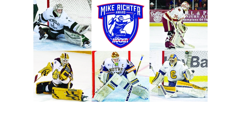 NCAA: Finalists Announced For 2017 Mike Richter Award