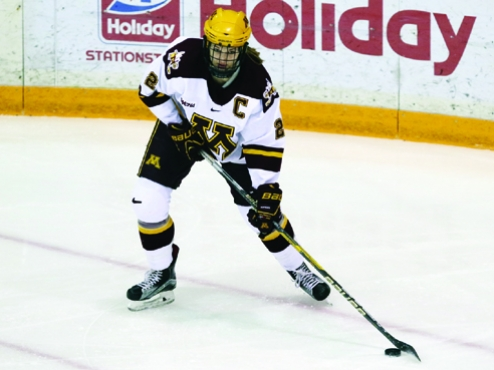 WCHA: Lee Stecklein's Charmed Hockey Life