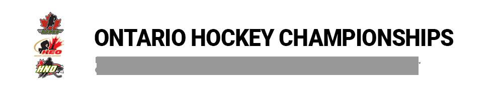 Ontario Hockey Federation - Championships
